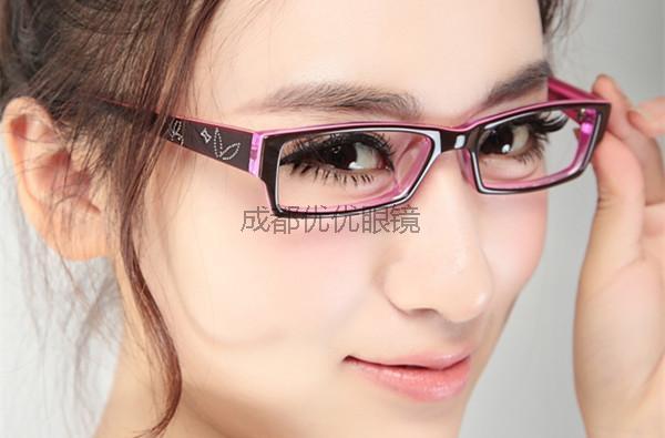 女孩如何选眼镜框